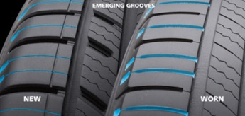 Michelin Tires Emerging Groove technology