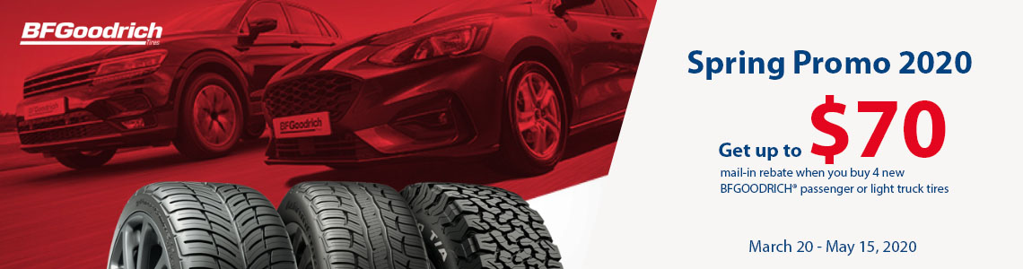 BF Goodrich Tire Rebate Canada Tires-Easy.ca